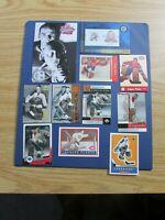 JACQUES PLANTE  (24 diff) Cards & Items + postcard Montreal Canadiens Parkhurst