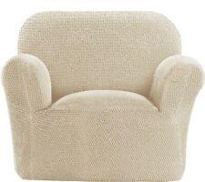 QVC Paulato Roma 1-Seater Stretch Furniture Cover Ivory No Inserts