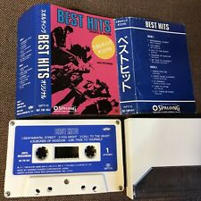 Promo-only BEST HITS presented SPALDING JAPAN CASSETTE WPT-15 w/PS(flap intact)