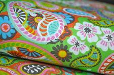 MISCELA CACHEMERE retrò vintage USA tessuto designer 0,5 m DECORAZIONI