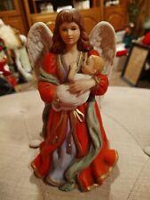 Home Interior Homco Heaven's Treasures Christmas Angel Porcelain Figurine #1432