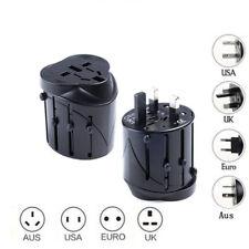 International USB Travel Adapter AC Power Plug Converter Universal AUS UK US EU