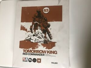3A ThreeA Tomorrow King Red Commander Action Figure 1/6 Scale Ashley Wood