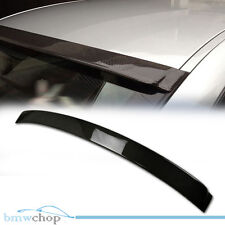 Carbon Fiber BMW E90 Saloon Rear Shade Roof Spoiler 330i M3 3-Series Sedan 05-11