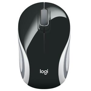 NEW Logitech M187 Wireless Mini Mouse USB Black Small Portable Mice Laptop Compu