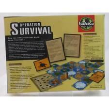 Operation Survival Nature/Adventure Strategy Board/Card Game NEW SEALED Bio Viva