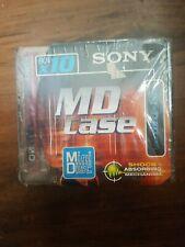 10 Sony MD 80x10 Sets Black Mini Disc