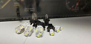 VW Golf Mk 1 GTi Rabbit Caddy Dash Instrument Gauge Warning Lights  LED Bulb Set