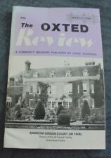 The Oxted Review  March 1990