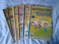 Richie Rich Harvey Comic Lot Of 6 Billions