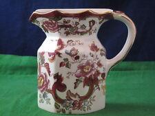 Masons Ironstone Mandalay Red Wall Pocket Vase Flat Back Jug England RD3705