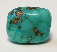 RARE ANTIQUE TIBETAN NATURAL TURQUOISE BEAD