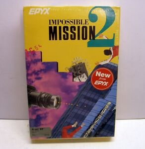 CLASSIC; Impossible Mission 2 by Epyx for Atari ST - NEW