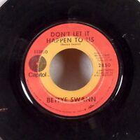 "Bettye Swann Ain't That Peculiar 45 7"" Capitol NORTHERN SOUL R&B VG-"
