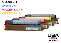 New 4 Toner Cartridges for Ricoh MP C306, C307, C406, C407 (CMYK)