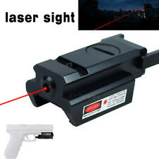 New Mini Low Profile Red Laser Sight Picatinny Weaver Rail Mount For Pistol Gun