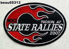 2007 TUCSON ARIZONA HARLEY OWNERS GROUP STATE HOG H.O.G. RALLY VEST PATCH
