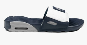 Nike Wmns Air Max 90 Slide (CT5241 400) Schlappen Damen Sandalen Blau NEU OVP
