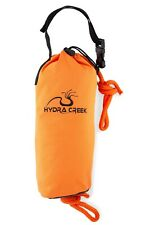 Hydra Creek Rescue Throw Bag, 70 ft, 3/8 rope, floating