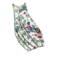 Women Fashion Womens beach Short Sleeve sundress Party Maxi Evening Long Floral