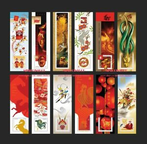 Canada 2021 Lunar New Year Souvenir Sheet Set MNH