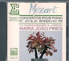 CD CLASSIQUE--MOZART--CONCERTOS PIANO N° 20 & 21