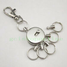 One Snap Swivel Multi Removeable Detatchable Key Ring 5 removable Keyring Clip