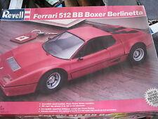 NEW NLA Revell Ferrari 512 BB Boxer Berlinetta 1/16 scale model #7510 ORIGINAL
