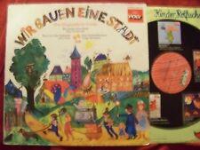 Wir bauen eine Stadt  3 Singspiele für Kinder  prima  Poly LP