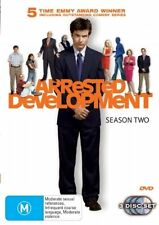 Arrested Development : Season 2 (DVD, 2006, 3-Disc Set) RAND NEW SEALED REGION 4