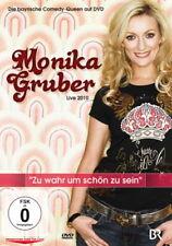 DVD * MONIKA GRUBER  - ZU WAHR UM SCHÖN ZU SEIN # NEU  OVP %