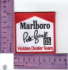 Peter Brock 05 Marlboro Signature Heat Sealed Embroidered Cloth Patch..Badge