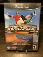 Tony Hawk's Pro Skater 3 (Nintendo GameCube, 2001) Tested Works Complete