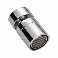 Kitchen 360° Swivel Tap Head Water Saving Faucet Extender Sprayer Sink Aerator~