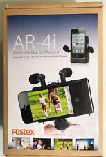 Fostex AR-4i Battery Powered Audio Interface - iPhone 4/4S/iPod Touch: