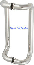 "24"" Pull Handle Entry Glass Door Entrance stainless steel Polished Chrome Finish"