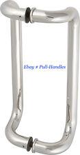 """24"""" Pull Handles Entry Glass Door Entrance Door stainless steel Barn pulls"""