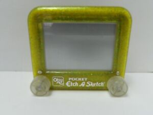 Etch-A-Sketch Ohio Art Jelly Color Frame Lime Green Blue Sparkle 5558