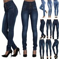 Women Lady Sexy Slim Leggings Jeans Jeggings Stretch Skinny Pants Denim Trousers