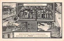 """Privat Ganzsache Briefmarken - Tauschvereinigung 1893 """"FRISIA"""" Wilhelmshaven"""