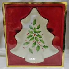 Lenox Holiday Tree Candy Dish 6146310 Dimension Collection
