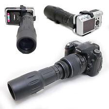 10x 42 1000mm Digiscoping Telescope for Nikon Digital D3200 AF-s DX 18-55mm Lens