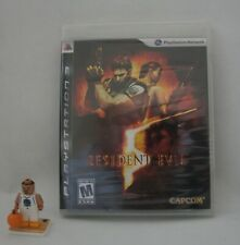Resident Evil 5 (Sony PlayStation 3, 2009) FACTORY SEALED