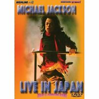 Factory Sealed Michael Jackson - Live In Japan DVD!