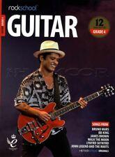 Rockschool Guitar Grade 4 2018-2024 Tab Music Book/audio Songs Exercises Tests