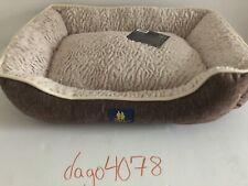 U.S. Pet Club Walnut Colored Cuddled Pet Bed