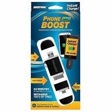 RAYOVAC MICRO USB CHARGER ~NEW~  PHONE BOOST 60 MINUTES OF TALK TIME