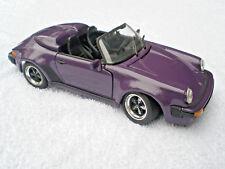 PORSCHE 911 Speedster - 1989-VIOLA - 1/18 - Master Toy - 300/0473 - rarità