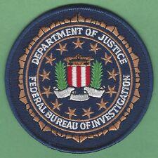 FBI FEDERAL BUREAU OF INVESTIGATION DEPARTMENT OF JUSTICE SEAL PATCH