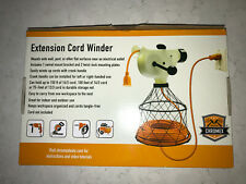 Chromex Extension Cord Winder with Swivel Mount